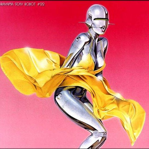 Sorayama sexy robots