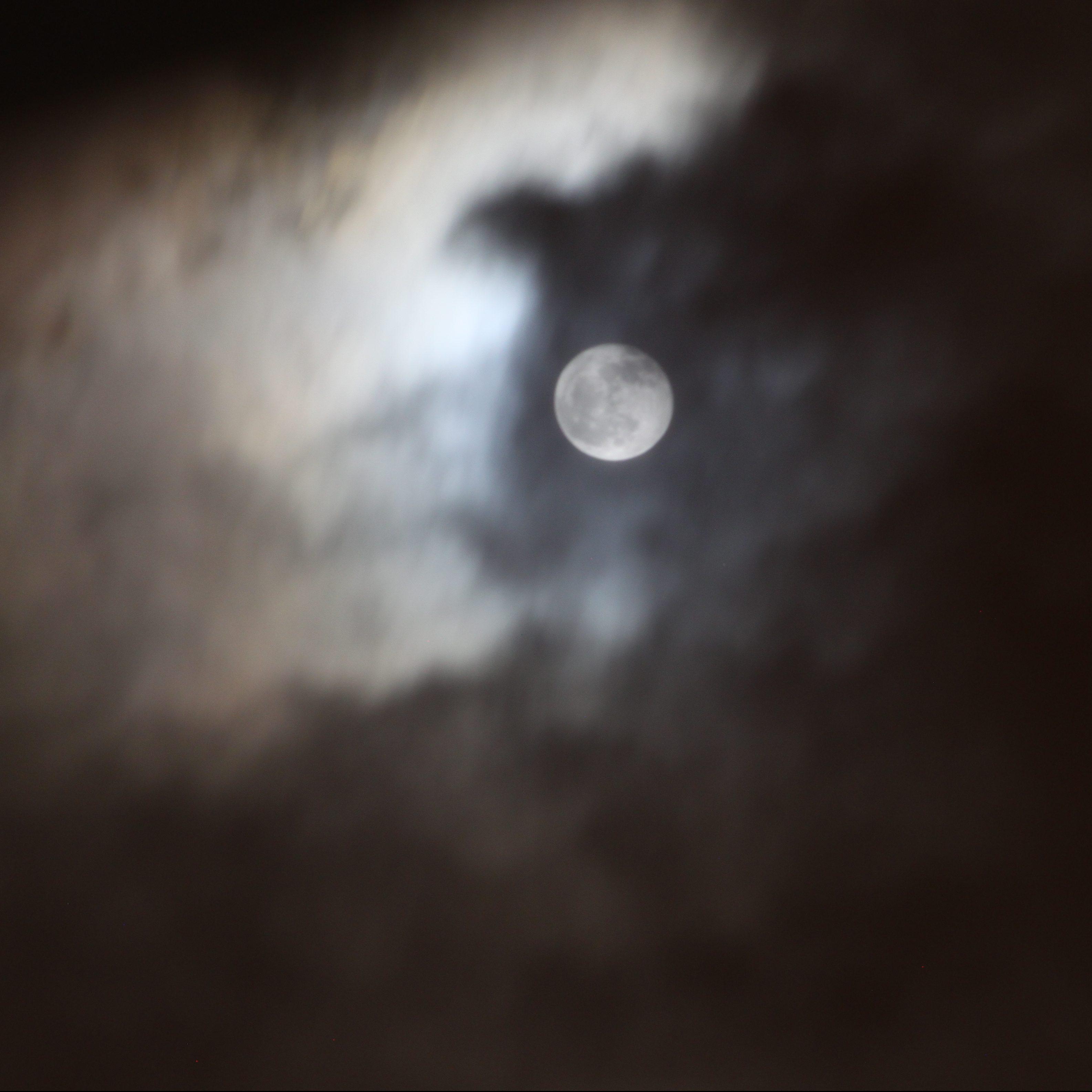 Timelapse de la luna